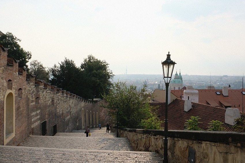 カレル橋と聖ヴィート大聖堂